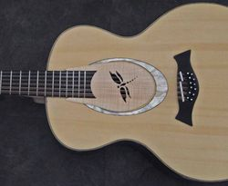Custom soundhole cover