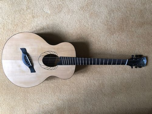 Another fanfret, and another oval soundhole