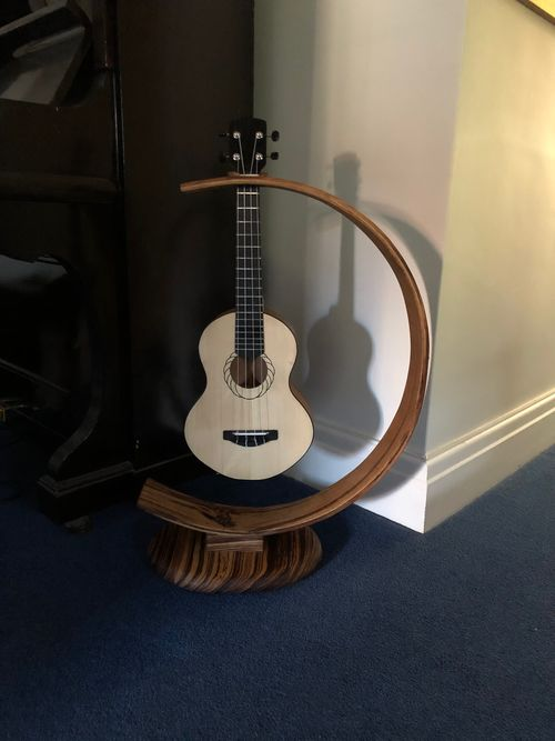 It fits a ukulele as well